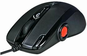 Мышь A4 X-755BK оптическая проводная USB, черный [x-755k]