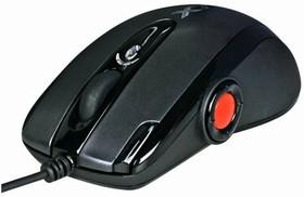 Мышь A4 XL-755BK лазерная проводная USB, черный