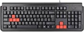 Клавиатура A4 X7-G300, PS/2, черный