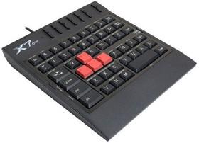Игровой блок A4 X7-G100, USB, без русского алфавита, черный