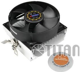 Устройство охлаждения(кулер) TITAN DC-K8M925B/R/CU35, 95мм, Ret