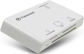 TS-RDP8W, All in1 Multi Card Reader, White