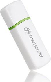 TS-RDP5W, USB 2.0 MMC / SD / microSD / M2 Reader White