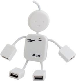 Хабы(разветвители) PC PET Human белый