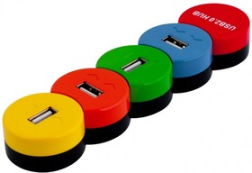 Хабы(разветвители) PC PET Snake разноцветный