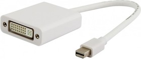 Переходник Display Port DisplayPort mini (m) - DVI (f) белый
