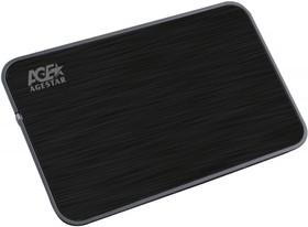 Внешний корпус для HDD AGESTAR 3UB2A8, черный
