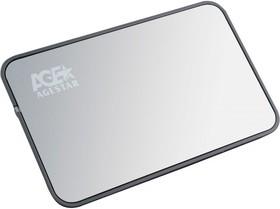 Внешний корпус для HDD AGESTAR 3UB2A8, серебристый