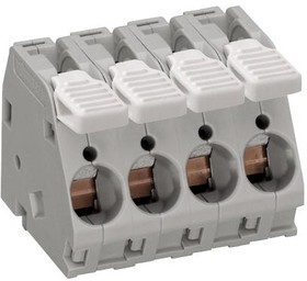 2716-103, Клеммная колодка типа провод к плате, 10 мм, 3 вывод(-ов), 16 AWG, 6 AWG, 16 мм², Вставной