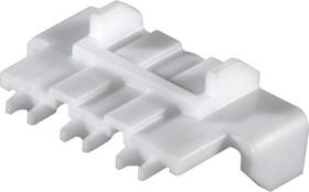 1727090010, Connector Accessories Terminal Position Assurance Retainer Straight Nylon White Mini-Fit Jr™ Bag