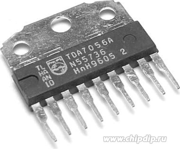TDA7056B 5W mono BTL audio