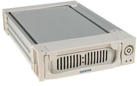 Mobile rack (салазки) для HDD AGESTAR AMR1- SATA(K)-3F, серебристый