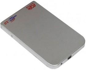 Внешний корпус для HDD AGESTAR 3UB2O1, серебристый