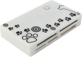 Картридер внешний PC PET CR-215DWH, белый
