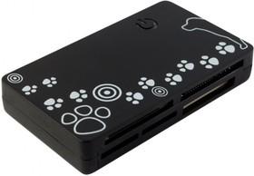 Картридер внешний PC PET CR-215DBK, черный