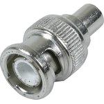 HYR-0113A (GB-113A) (BNC-7003), Разъем BNC, штекер, RG-58, обжим (Crimp)