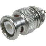 HYR-0118 (GB-118) (BNC-7015), Разъем BNC, штекер, панель, под гайку (Bulkhead)