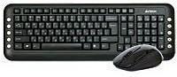 Фото 1/2 Комплект (клавиатура+мышь) A4 7200N, USB, беспроводной