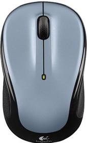 Мышь LOGITECH M325 оптическая беспроводная USB, серый и черный [910-002334]