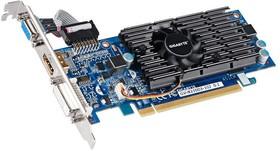 Видеокарта GIGABYTE GeForce 210, GV-N210D3-1GI, 1Гб, DDR3, Low Profile, Ret