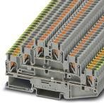 3210541, Conn Ground Modular Terminal Block F 6 POS T DIN Rail 20A