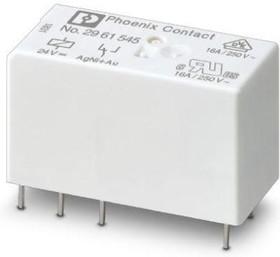Фото 1/2 2961545, Power Relay 24VDC SPDT(15.7x12.7x29)mm THT