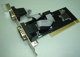 Контроллер PCI WCH351 2xCOM Bulk [asia pci 2s]
