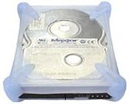 "Защитный чехол AGESTAR SHP-3-J W, для 3.5"" дисков, белый"