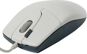 Мышь A4 OP-620D оптическая проводная USB, белый [op-620d white usb]