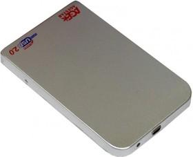 Внешний корпус для HDD AGESTAR SUB201, серебристый