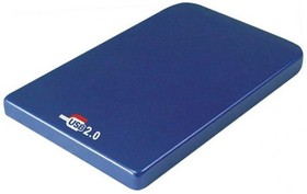 Внешний корпус для HDD AGESTAR SUB201, синий