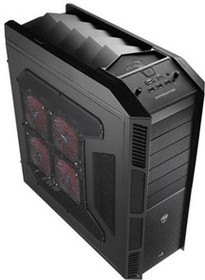 Фото 1/2 Корпус ATX AEROCOOL XPredator, Full-Tower, без БП, черный