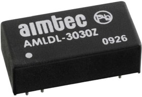 AMLDL-3035Z, DC/DC LED Driver, 9.45Вт, вход 7-30В, выход 2-28В/350мА