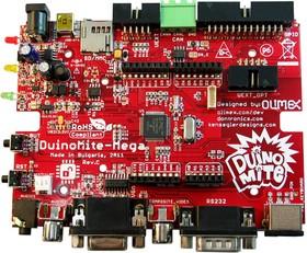 Фото 1/2 DUINOMITE-MEGA, Отладочная плата форм-фактора Arduino на базе МК PIC32MX795
