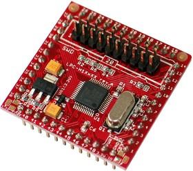 Фото 1/3 LPC-H1114, Отладочная плата на базе мк LPC1114FBD48 ARM Cortex-M0