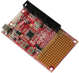 Фото 1/2 LPC-P1114, Макетная плата на базе мк LPC1114 Cortex-M0