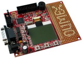 Фото 1/3 LPC-P1227, Отладочная плата на базе мк LPC1227 CORTEX M0 ARM