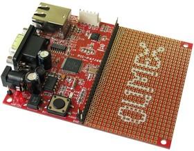 Фото 1/3 PIC-P67J60, Макетная плата на базе PIC18F67J60 с Ethernet и TCP-IP стеком