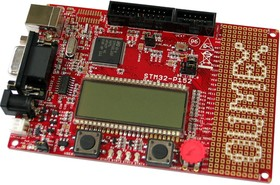 Фото 1/3 STM32-P152, Отладочная плата на базе низкопотребляющего мк STM32L152 с ядром Cortex-M3