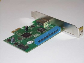 Фото 1/2 Контроллеры IDE/SATA/SCSI контроллер JMB363 RAID, PCI-E [asia pcie 363 sata/ide]