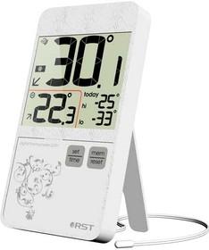 02151, Термометр цифровой в стиле iPhone 4, белый корпус