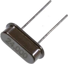24000kHz 30ppm 20pF, HC-49/S, Кварцевый резонатор 24000kHz 30ppm, 20pF, корп. HC-49/S, -20...+60C