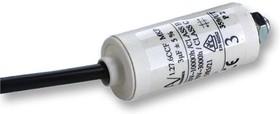 C276CCF4300LG0J, Пленочный конденсатор, 3 мкФ, серия C27 Motor Run, 470 В AC, Проводные Выводы, ± 5%, 15 В/мкс