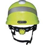 Фото 3/5 Каска защитная BASEBALL DIAMOND V UP из ABS лимонного цвета DIAM5UPJAFL