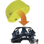 Фото 5/5 Каска защитная BASEBALL DIAMOND V UP из ABS лимонного цвета DIAM5UPJAFL