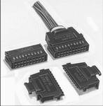 XG5M1032N, Conn Housing RCP 10 POS 2.54mm Crimp ST