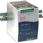 Фото 2/3 SDR-480-24, Блок питания, 24В,20А,480Вт