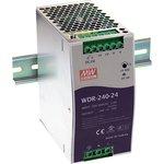 Фото 2/3 WDR-240-24, Блок питания, вход:1-2х фазное 180-550В, выход 24В,10А,240Вт