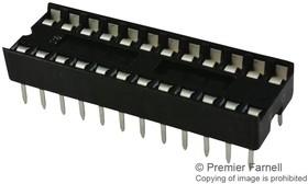 4824-3000-CP, ИС и гнездо компонента, 24 контакт(-ов), Гнездо DIP, 2.54 мм, 4800 Series, 7.62 мм