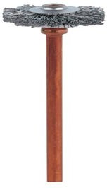 DREMEL 530, Щётка из нержавеющей стали 3,2мм